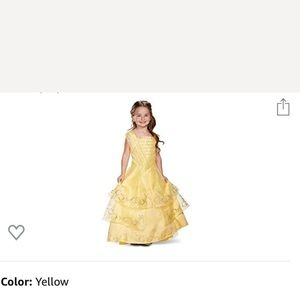 Super cute Belle ball gown
